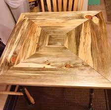 Pine Kitchen Tables And Chairs Buy A Custom Made Beetle Kill Pine Kitchen Table Made To Order