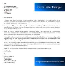 Cover Letter Examples & Cover Letter Templates