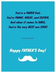 15 Fun Fathers Day Card Templates To Show Your Dad Hes 1 Venngage