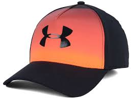 under armour orange. under armour ombre stretch fit cap orange