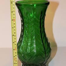 glass vases green milk vase best antique vintage