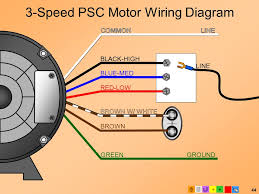 e2 motors and motor starting modified ppt video online 3 speed psc motor wiring diagram