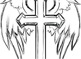 Cross Coloring Pages Stations Of The Pdf Easter Printable Christian