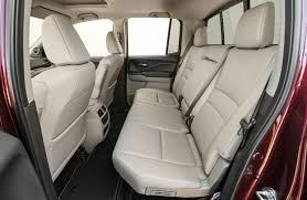 ridgeline back seat