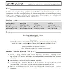 Famous Chemical Engineering Resume No Experience Ideas Resume