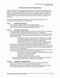 Formal Partnership Agreement Template - Fast.lunchrock.co