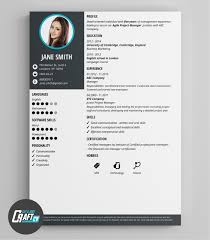 Modern Graphic Resume Template Modern Cv Sample Zlatan Fontanacountryinn Com