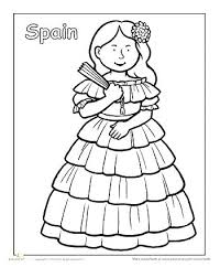 Coloring Pages In Spanish Pages Page Princess Page Easter Coloring