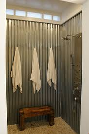 a virtual home tour the first level life your way metal roof panels in a shower