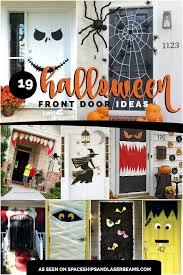 halloween front door decorations19 Hauntingly Awesome Halloween Door Decorating Ideas  Spaceships