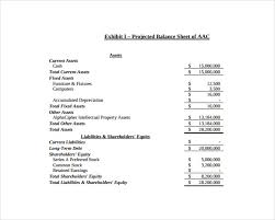 Accounting Balance Sheet Template Balance Sheet Templates 18 Free Word Excel Pdf Documents