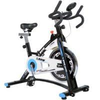 indoor cycling bike smooth belt driven model d600