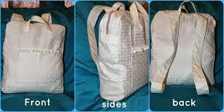 Diy Backpack Pattern