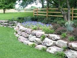 boulder retaining wall rock wall landscaping best boulder retaining wall ideas on rock wall landscape patio