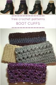 Free Crochet Boot Cuff Patterns Beauteous How To Crochet Boot Cuffs Lucy Kate Crochet