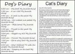 best compare and contrast images reading skills dog s diary vs cat s diary