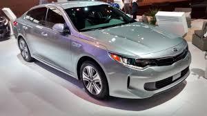 kia new car release2017 Kia Optima Hybrid PlugIn Auto Show Debut and Features