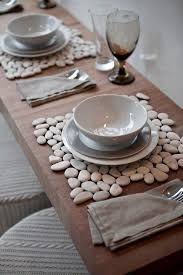 stone tiles from home improvement store, add felt to the bottom for  inexpensive placemats or hot pads. I like this idea for hot pads, but not  so much for ...