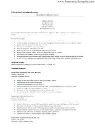 Assistant Teacher Resume Samples Special Education Teacher Resume Sample Yuriewalter Me