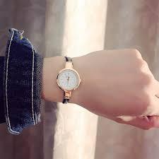 <b>New Fashion Watch</b> Women <b>Simple</b> Elegant Style Leather Strap ...