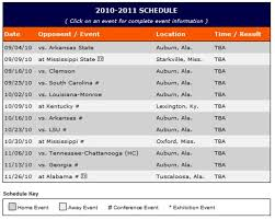 auburn football september 2010 2010 2016 auburn football schedule