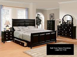 Bedroom Expansive Black King Bedroom Sets Painted Wood Table