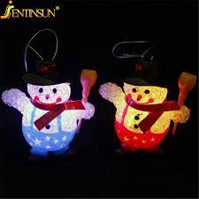 2pcs Lot Christmas Snowmen Colorful Night Light Led Night