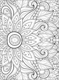Flower Coloring Pages Pdf Fresh Adult Coloring Pages Flowers 2 2