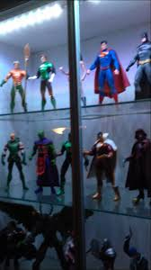 ikea billy lighting. ikea dioder led lights in a billy book case with dc collectibles and dcuc figures youtube ikea lighting