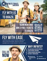 Travel Agent Flyer Templates Barca Fontanacountryinn Com