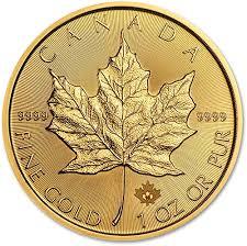 Coin Mintage Chart Canadian Gold Maple Leaf Bullion Coin