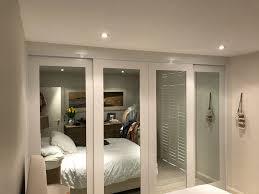 polyurethane sliding doors with mirrors