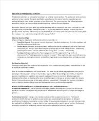 Summary Statement For Resumes Writing Expository Essays Study Guides And Strategies