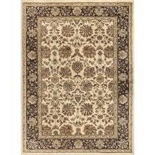 8x10 carpet 8 x large ivory brown and gold area rug elegance 8x10 carpet home depot