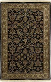 surya taj mahal tj 1047 black cream area rug