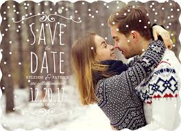 Winter Wedding Save The Date Unique Save The Date Ideas Photos Wording More
