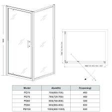 captivating shower door sizes shower door sizes home decor pivot bath king 2 dimensions walk in wet room sliding enclosure hinge glass shower door opening