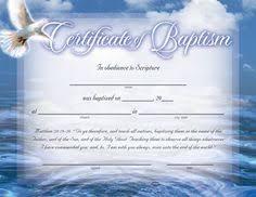 Baptism Certificate Word Editable Template Selecting Certificate
