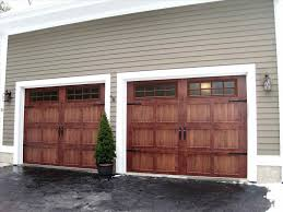 wooden garage door window insert ideas