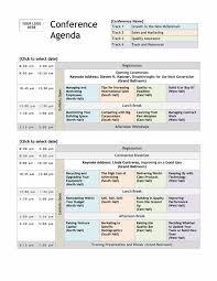Conference Program Template Microsoft Word Community Meeting Agenda