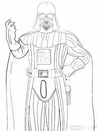 Star Wars Darth Vader Coloring Pages Printable Star Wars Coloring