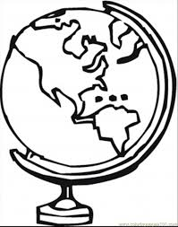 Small Picture World Globe Coloring SheetGlobePrintable Coloring Pages Free