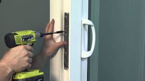 how to adjust the keeper on a dual point lock on a premium atlantic vinyl sliding patio door