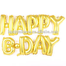 Happy Birthday Balloons Banner 16 Inch Happy Birthday Foil Balloon Banner Party Decoration Letter
