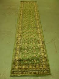hallway rug runners with green