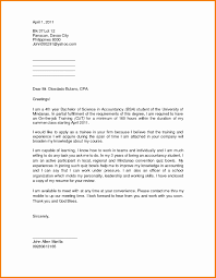 Unique Sample Application Letter For Ojt Letter Inspiration