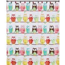 3 owl shower curtain from bed bath and beyond