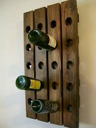 Image is loading Riddling-Wine-Rack-Wood-Handmade-Rustic-french-Country-