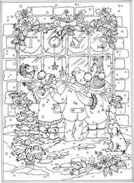Small Picture Christmas Around the World Coloring Book by Dover Publications