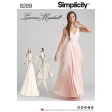 Simplicity Wedding Dress Patterns Enchanting Special Occasion